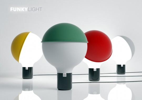 Funky Light - Lampe ludique avec abat-jour customisable