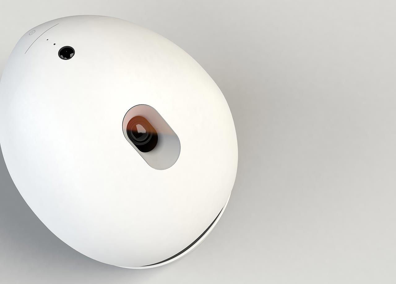 Keecker : Le robot video-projecteur autonome pour la maison