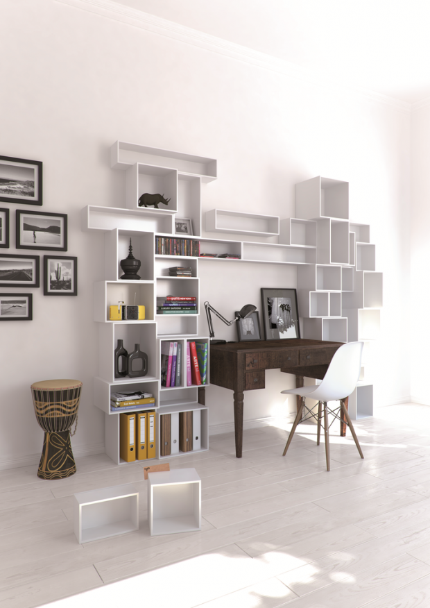 Rangement mural bureau cubit - Librerie componibili ikea ...