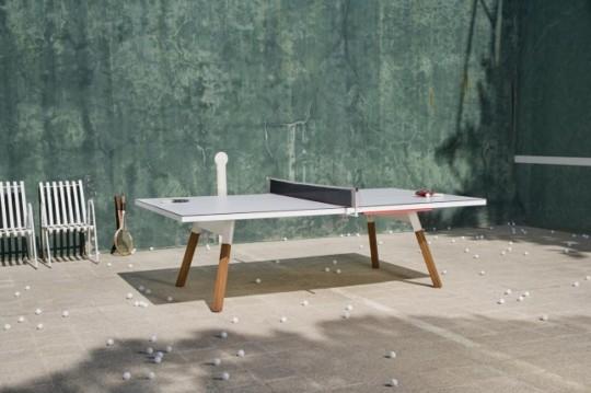 Table de Ping Pong design dans un intérieur