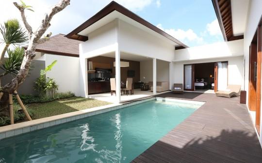 Uppala Villa avec piscine et Spa Umalas à Bali en Indonésie