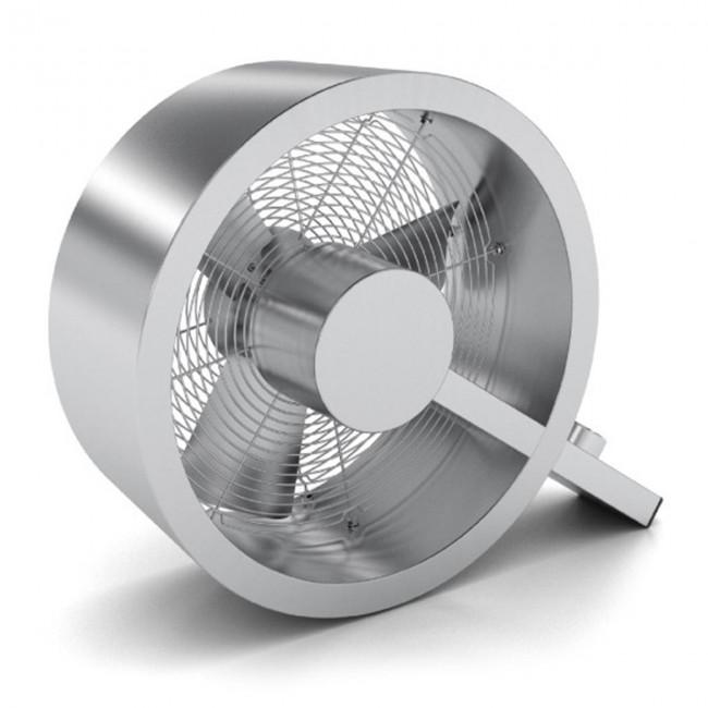 Ventilateur Q : Ventilo design silencieux en aluminium brossé