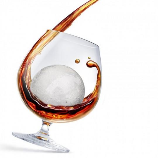 Whiskey Balls - balles de glace pour verre à Whiskey