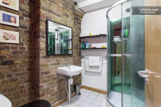 Appartement esprit loft - Salle de bain