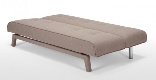 Canapé lit en tissu Yoko