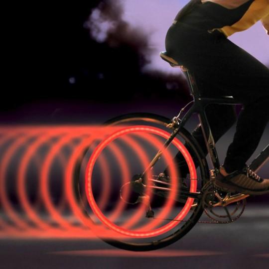 Eclairage LED pour roues de vélo Spokelit