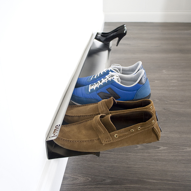 Wall Shoe Rack Rail Range Chaussures Mural