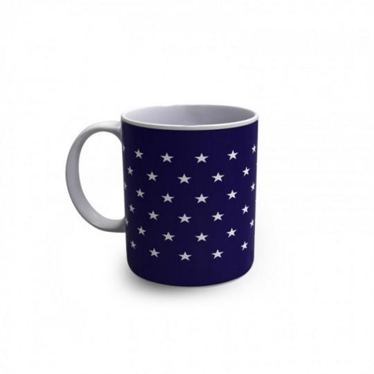 Stars Mug - mug drapeau USA qui réagit à la chaleur
