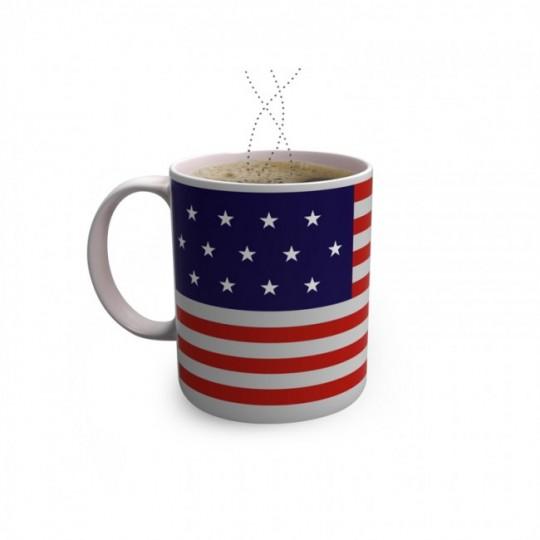 Stars Mug - mug drapeau américain magique