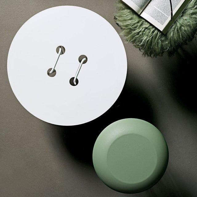 Table basse en forme de GROS bouton : Twine