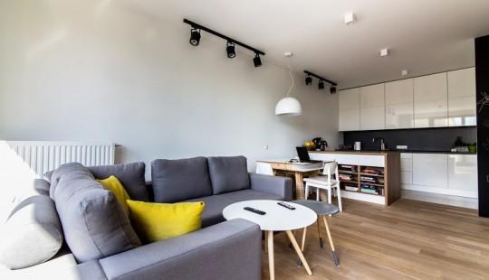 Appartement avec une déco scandinave