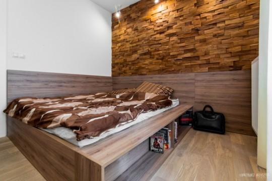 Appartement déco scandinave - chambre