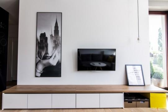 inspiration d co un petit appartement avec une d coration scandinave. Black Bedroom Furniture Sets. Home Design Ideas