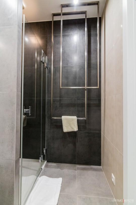 Appartement déco scandinave - douche à l'italienne