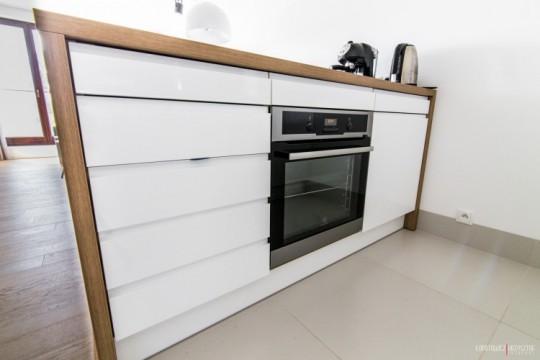 Appartement déco scandinave - meuble ilot cuisine