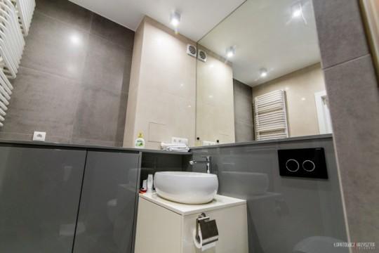 Appartement déco scandinave - salle de bain