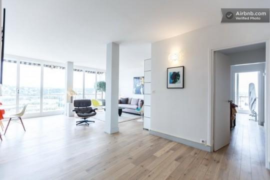 Appartement spacieux avec une déco rétro à Paris