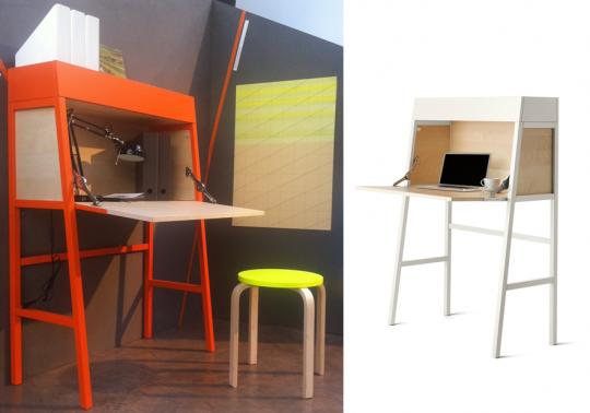 Bureau compact secrétaire Ikea PS