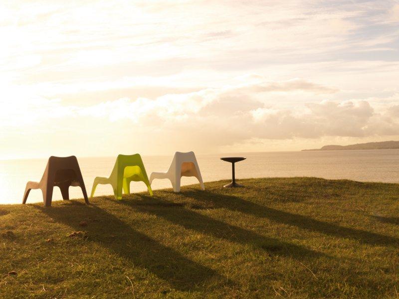 Chaises de jardin en r sine de couleur ikea ps vago - Ikea fauteuil jardin vago toulouse ...