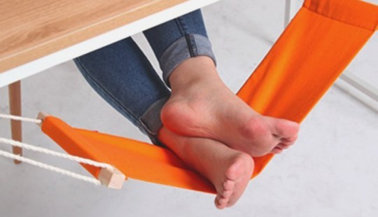 Hamac de bureau pour les pieds