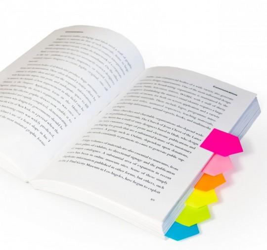 Marque page maison en couleur