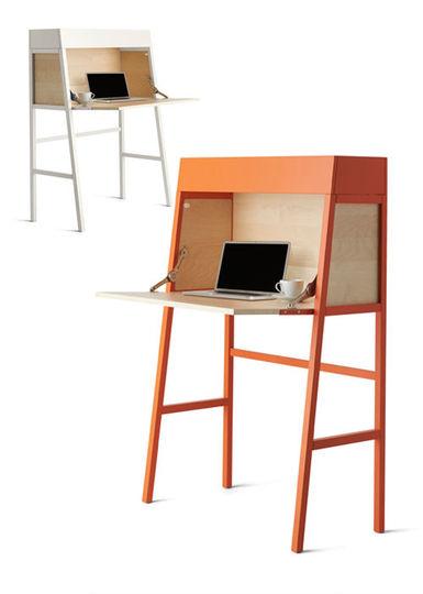 Secrétaires IKEA PS blanc et orange