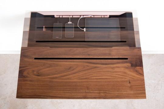 Stage interactiion Shelf - tablette murale avec rangement intégré