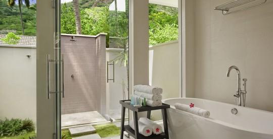 Hotel Hlton Labriz Seychelles - Garden Villa salle de bain