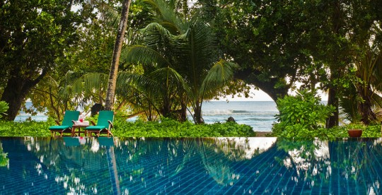 Hotel Hlton Labriz Seychelles - piscine