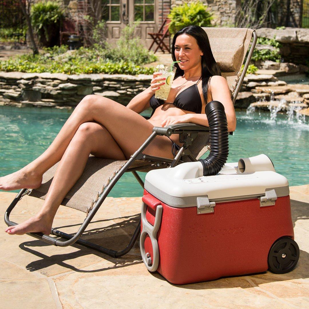 La solution pour avoir de l'air frais PARTOUT (et gardez vos boissons fraiches !)