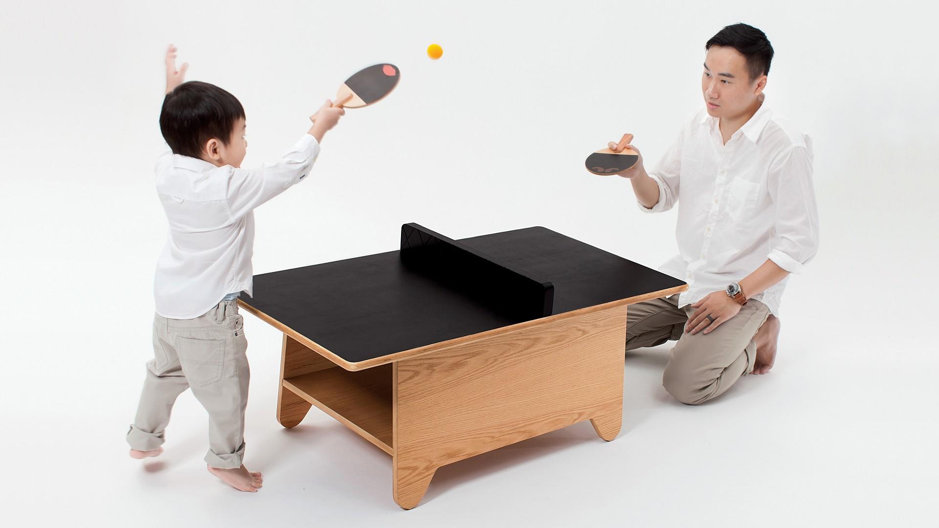 Ping Pong : la table basse pour jouer, dessiner et s'amuser