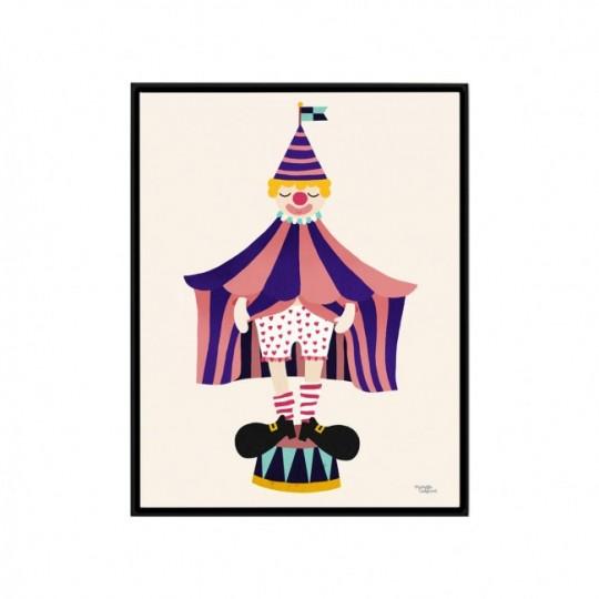 Tableau chambre d'enfant Clown