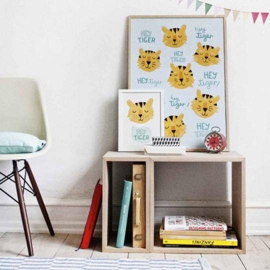 Tableau chambre d'enfant chats