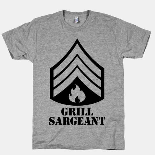 Tshirt Grill Sargeant