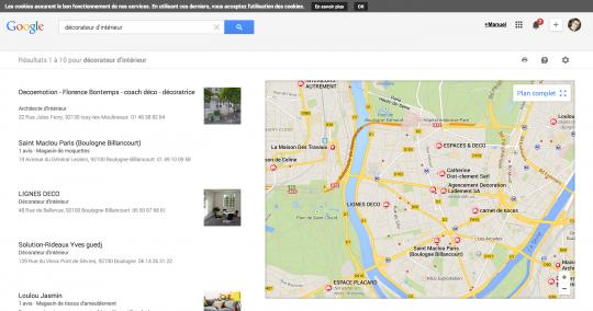 décorateur d intérieur   GoogleMaps