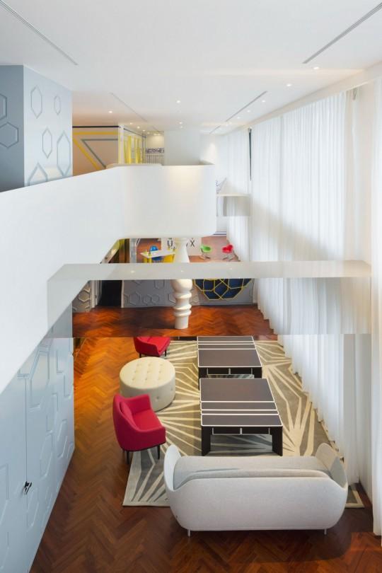 Appartement chinois déco colorée