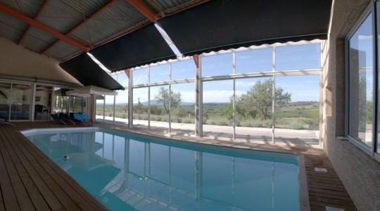 Maison comtemporaine à Azille - piscine