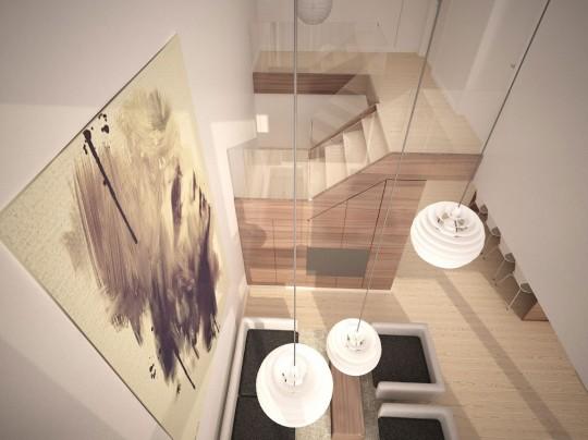 Starter House maison contemporaine 3D Simonas Petrauskas