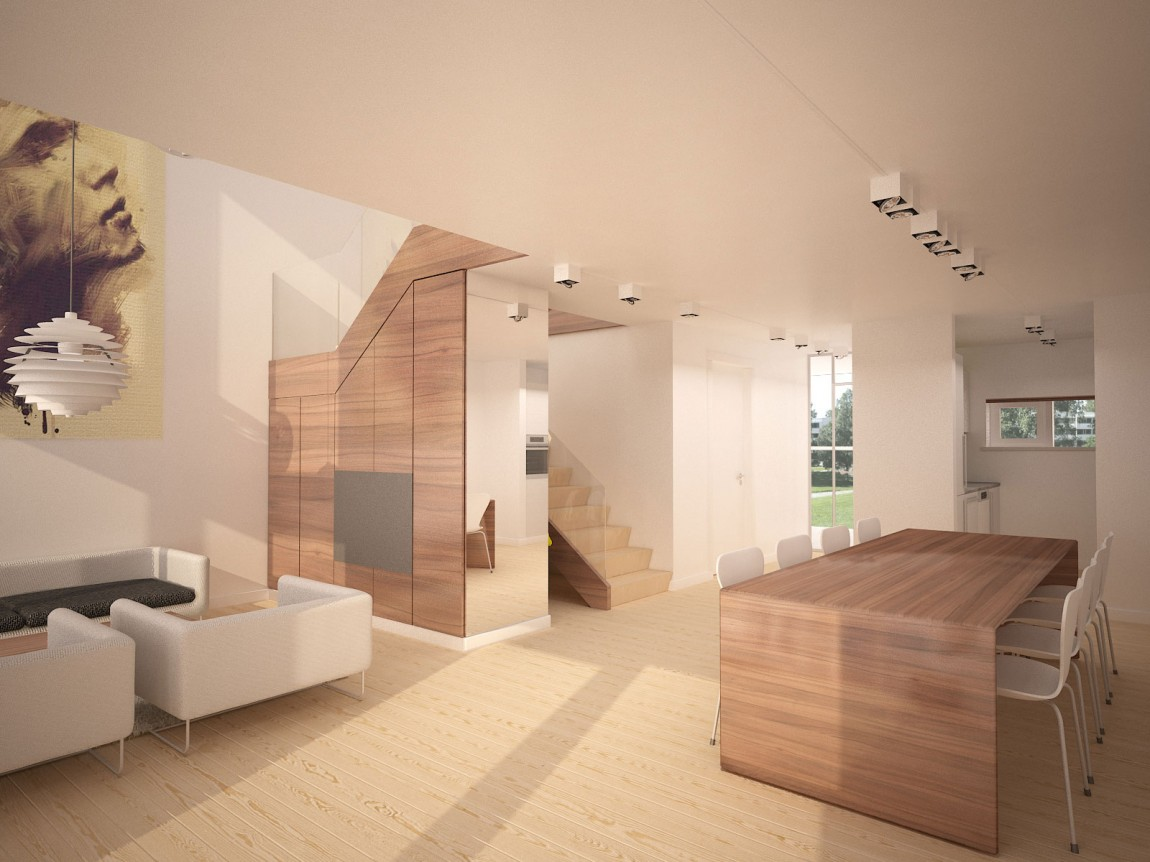starter house projet d 39 int rieur contemporain moderne et chaleureux. Black Bedroom Furniture Sets. Home Design Ideas