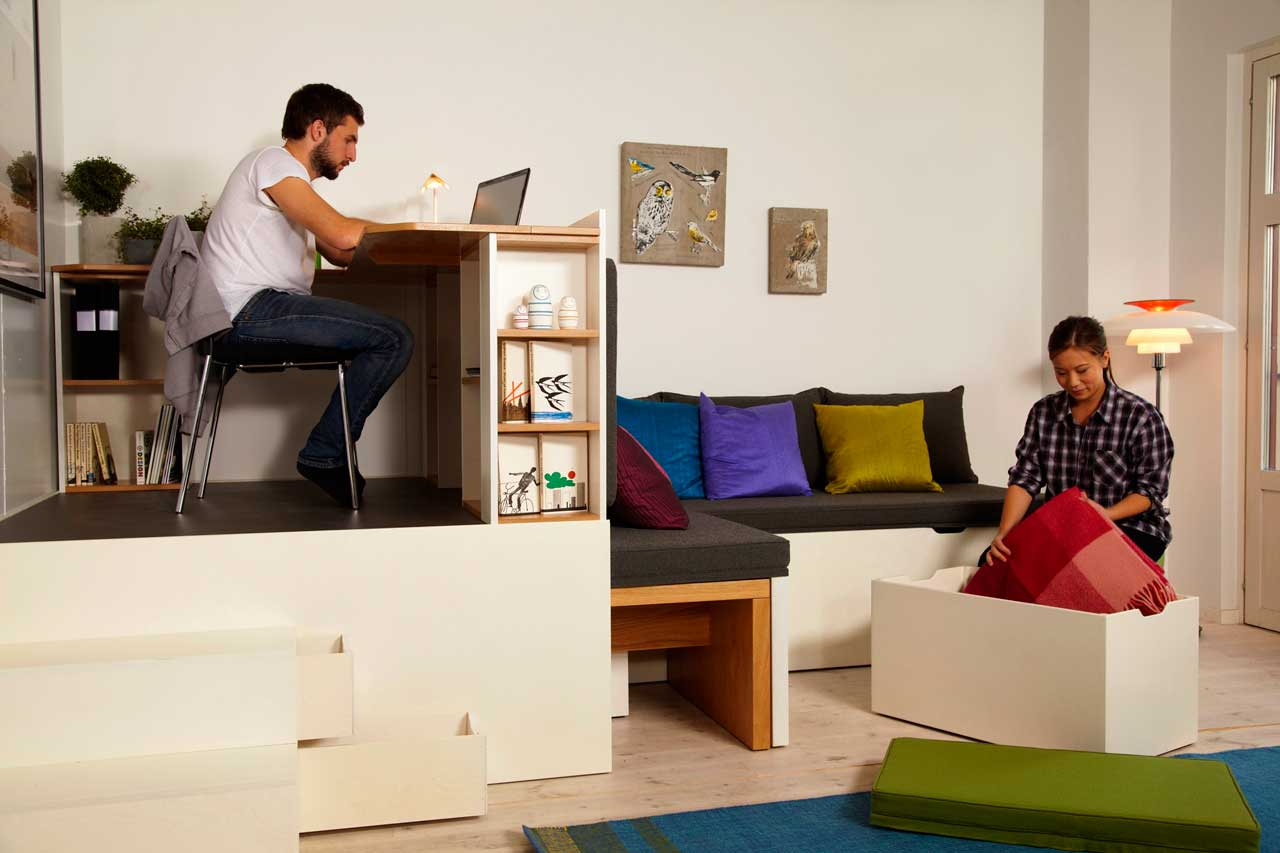 5 astuces pour optimiser l'espace dans un petit appartement