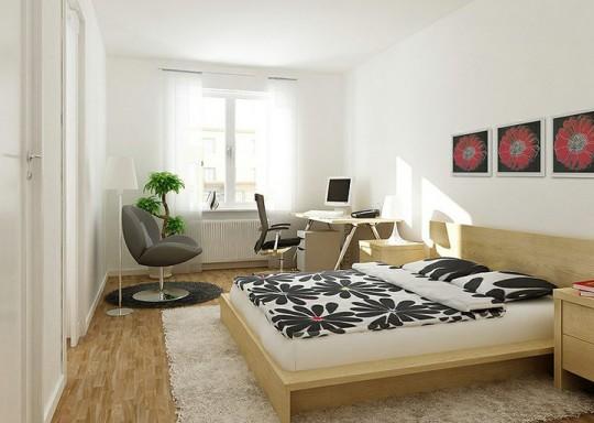 3 bonnes raisons de mettre un tapis dans votre chambre. Black Bedroom Furniture Sets. Home Design Ideas