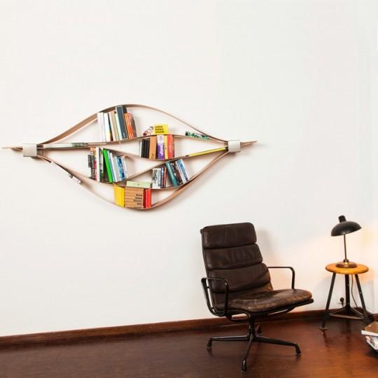 Décoration murale - étagère flexible Chuck