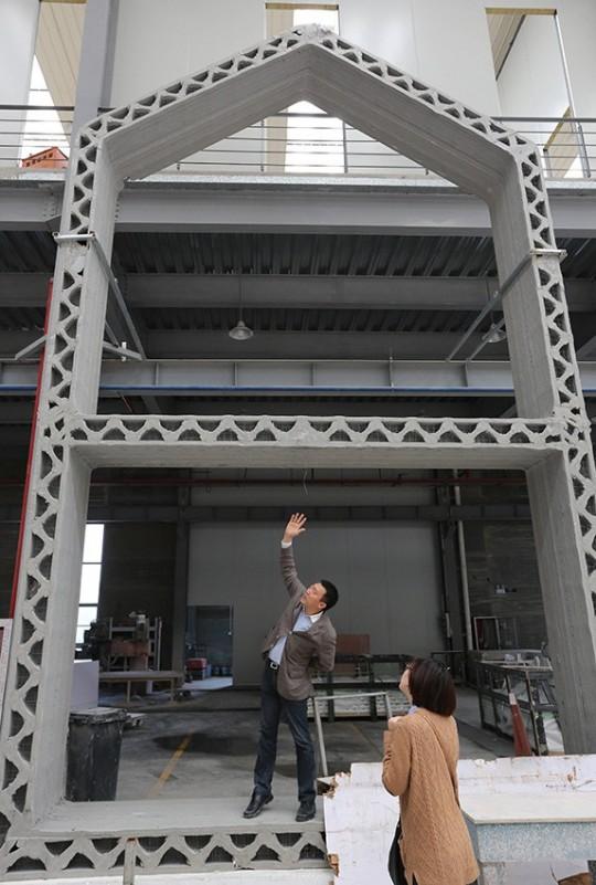 Maison imprimée en 3D - le montage