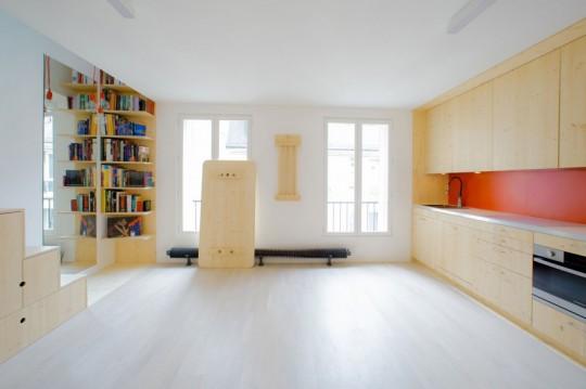 4 astuces recopier pour gagner de la place dans votre. Black Bedroom Furniture Sets. Home Design Ideas