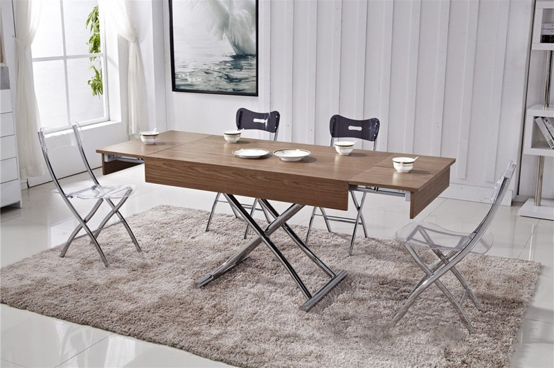 table basse relevable avec rallonges. Black Bedroom Furniture Sets. Home Design Ideas