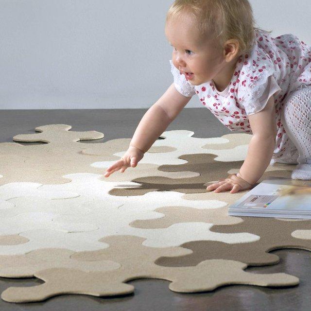 Tapis Puzzle : un tapis ludique pour s'amuser en famille