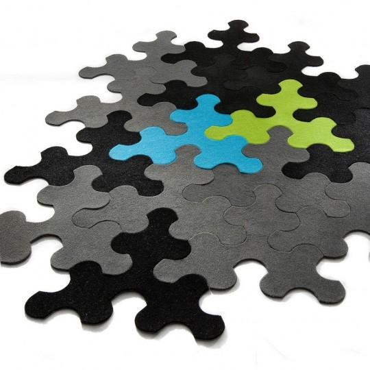 Tapis puzzle ludique et design