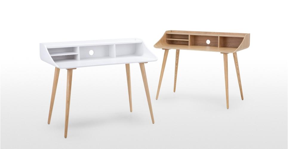Bureau bois et blanc aménagement petit bureau professionnel cdk