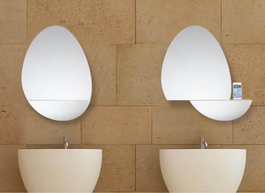 open mirror le miroir de salle de bain musical. Black Bedroom Furniture Sets. Home Design Ideas