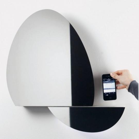 Système audio mural avec reconnaissance des mouvements Open Mirror